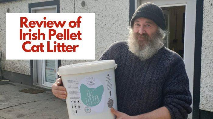 Review Of Irish Pellet Clumping Cat Litter